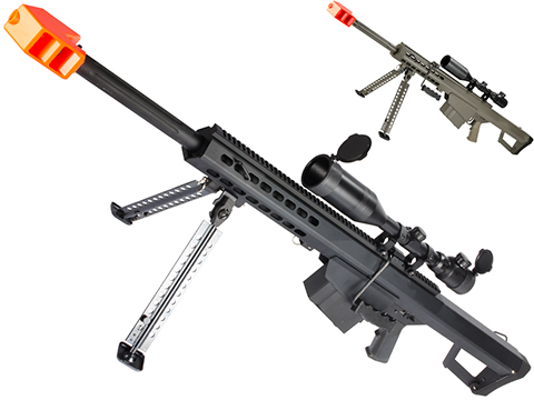 6mmProShop Custom Long Range Airsoft AEG Sniper Rifle (V.2 Gearbox)