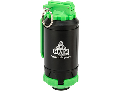 6mmProShop GBR Airsoft Mechanical BB Shower Simulation Hand Grenade (Color: Green)