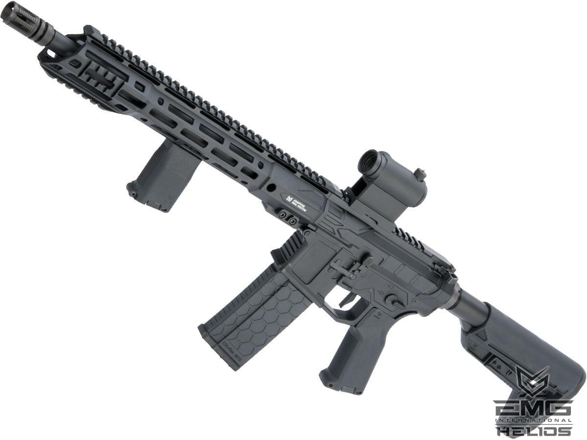 EMG Helios F4 Defense Licensed F4-15 ARS-L MLOK M4 Airsoft AEG Rifle (Model: Carbine / Black)