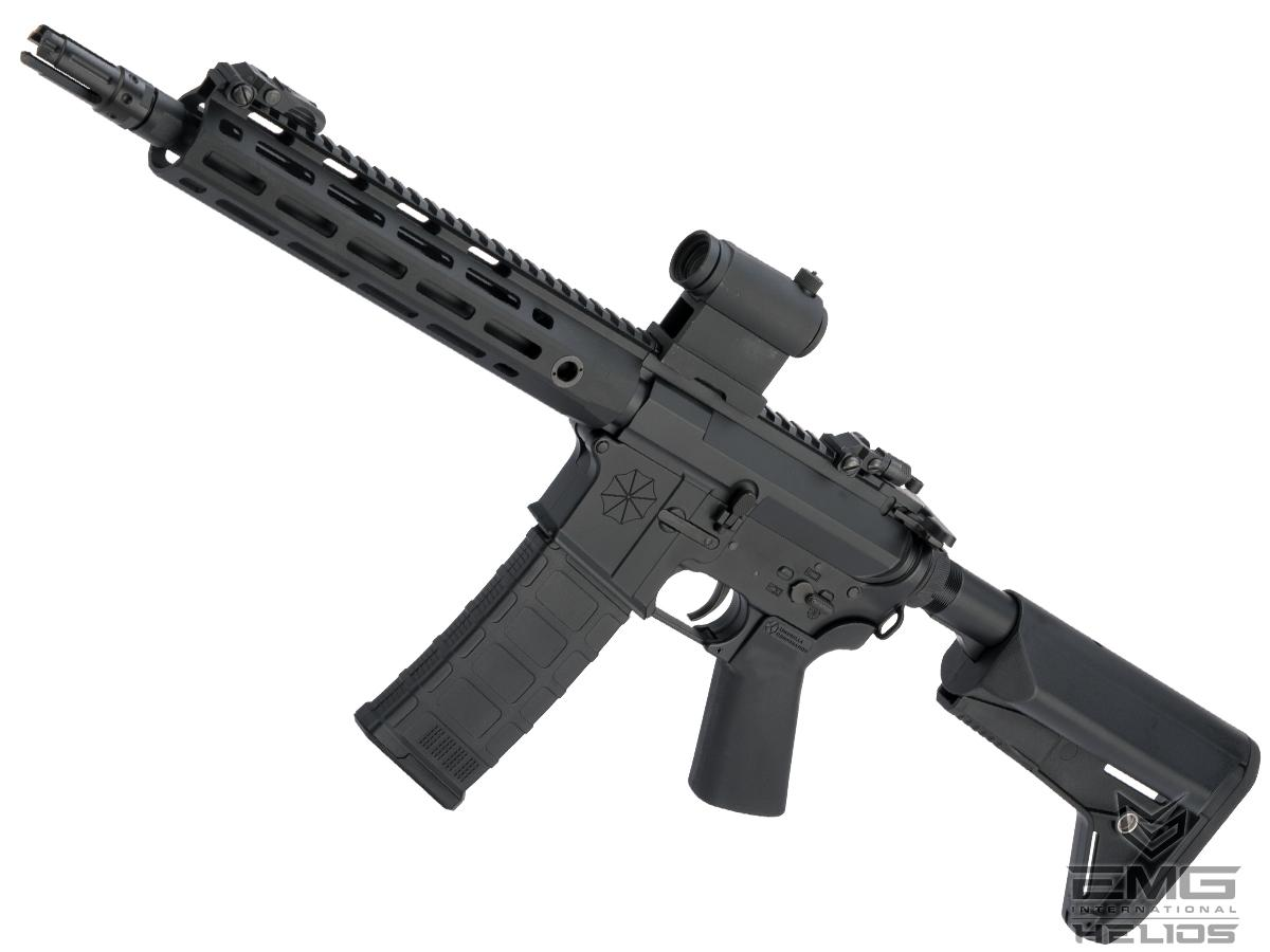 Helios Umbrella Corporation Weapons Research Group Licensed M4 M-LOK Airsoft AEG Rifle (Color: Black / SBR)
