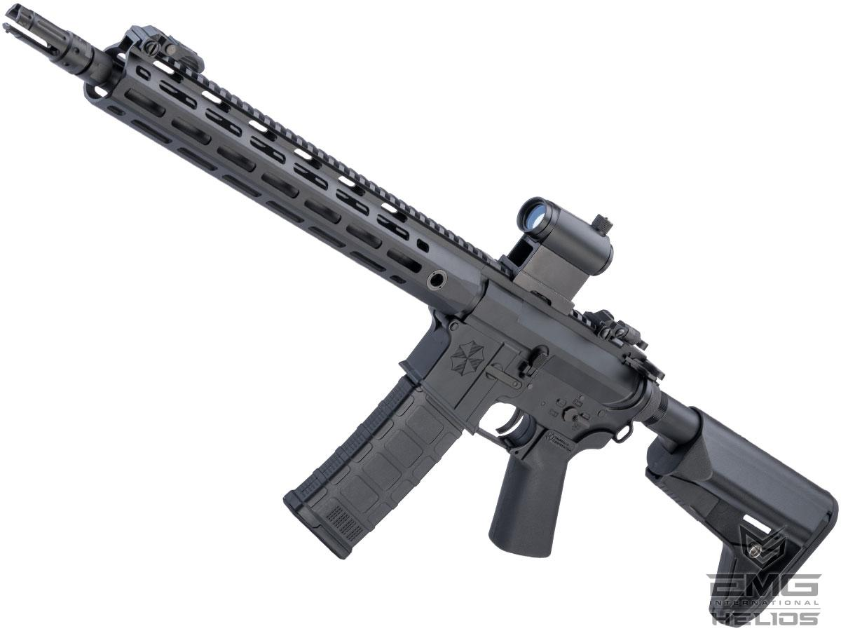 Helios Umbrella Corporation Weapons Research Group Licensed M4 M-LOK Airsoft AEG Rifle (Color: Black / Carbine - 350 FPS)