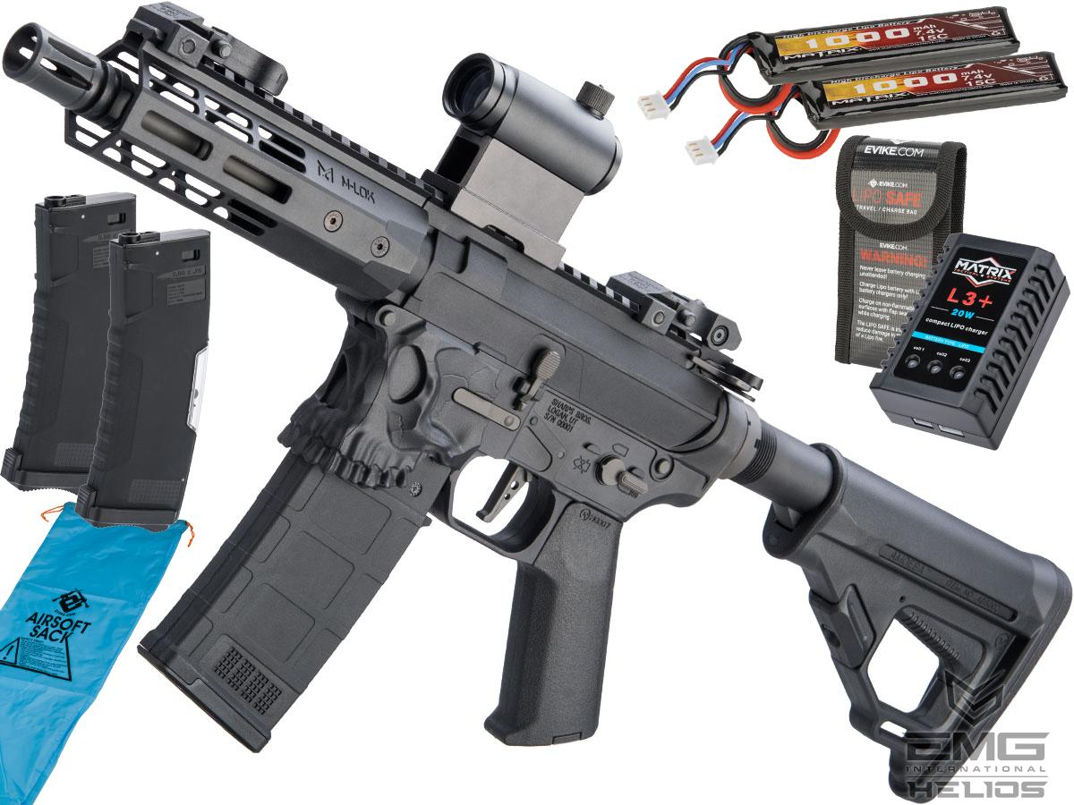 EMG Helios / Sharps Bros Jack Licensed M4 Airsoft AEG Rifle (Model: 7 PDW / Go Airsoft Package)