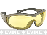 Axis Tactical Goggles by Valken - Green Frame / Yellow Lens