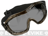 Valken V-Tac Alpha Tactical Goggles (Color: Smoke Lens)