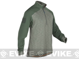 5.11 Tactical Rapid Response Quarter Zip Shirt - TDU Green