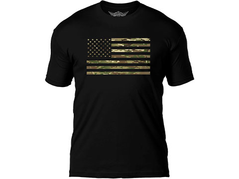 7.62 Designs Flag Battlespace Premium Men's Patriotic T-Shirt