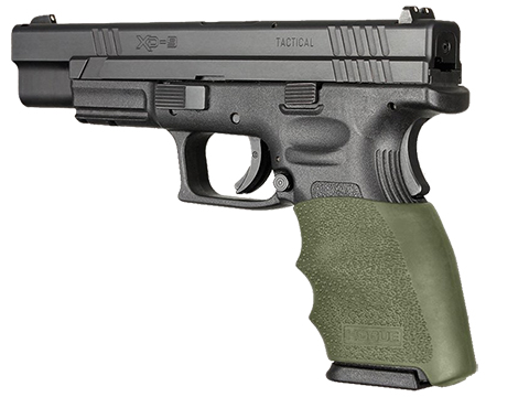 Hogue HandAll Hybrid Handgun Grip Sleeve (Color: OD Green / Model: Springfield XD9 9MM, 40S&W, 357SIG )