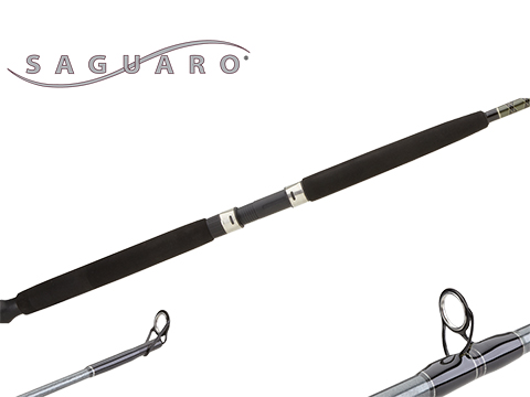 Shimano SGC66M Saguaro Stand-up Rod, 6 Guides + Tip (Length: 6'6 / Power: Medium / Monoline Capacity: 15 - 30lb)