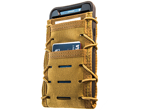 HSGI ITACO® Phone/Tech Pouch V2 (Color: Coyote Brown / MOLLE - Small)
