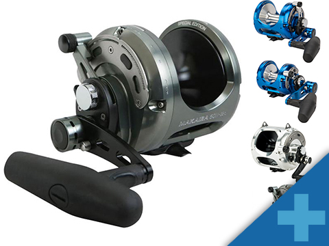 Okuma Reel Makaira Machined Aluminum SE 2-Speed Lever Drag Reel