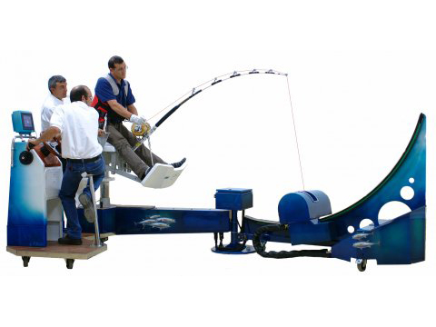 Scatri Sport Fishing Simulator (Model: IMER)