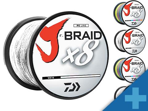 Daiwa J-Braid 3300YDS / 3000M 8-Strand Woven Round Braid Line