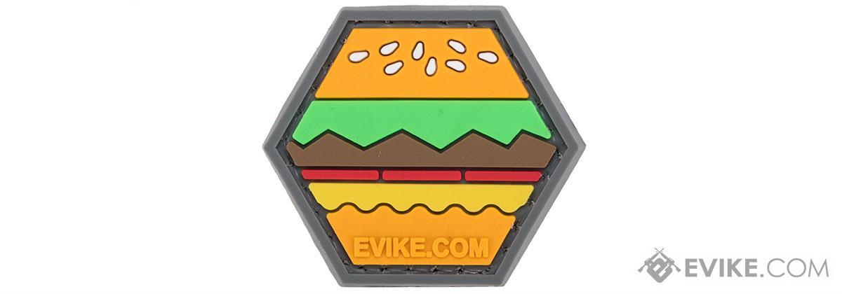 Operator Profile PVC Hex Patch Emoji Series (Emoji: Hamburger)
