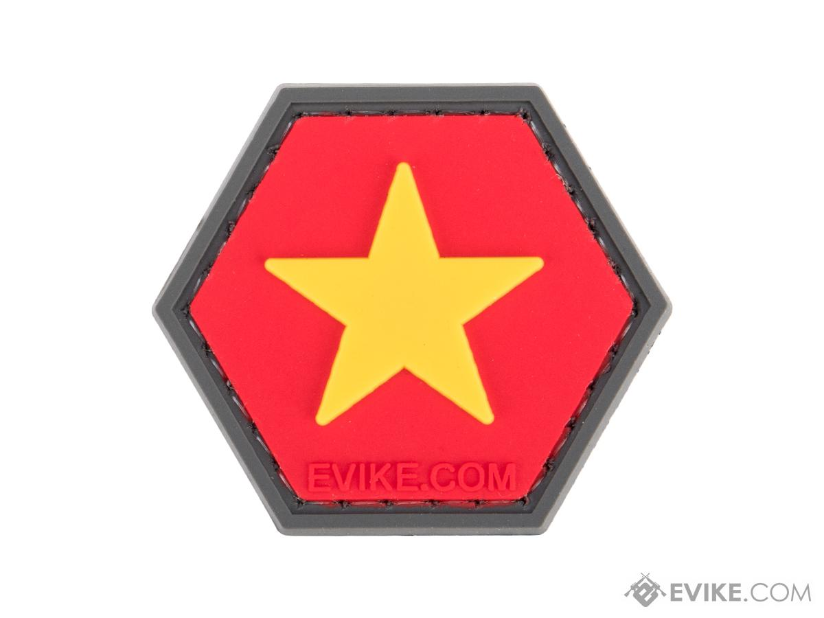 Operator Profile PVC Hex Patch Flag Series (Country: Vietnam)