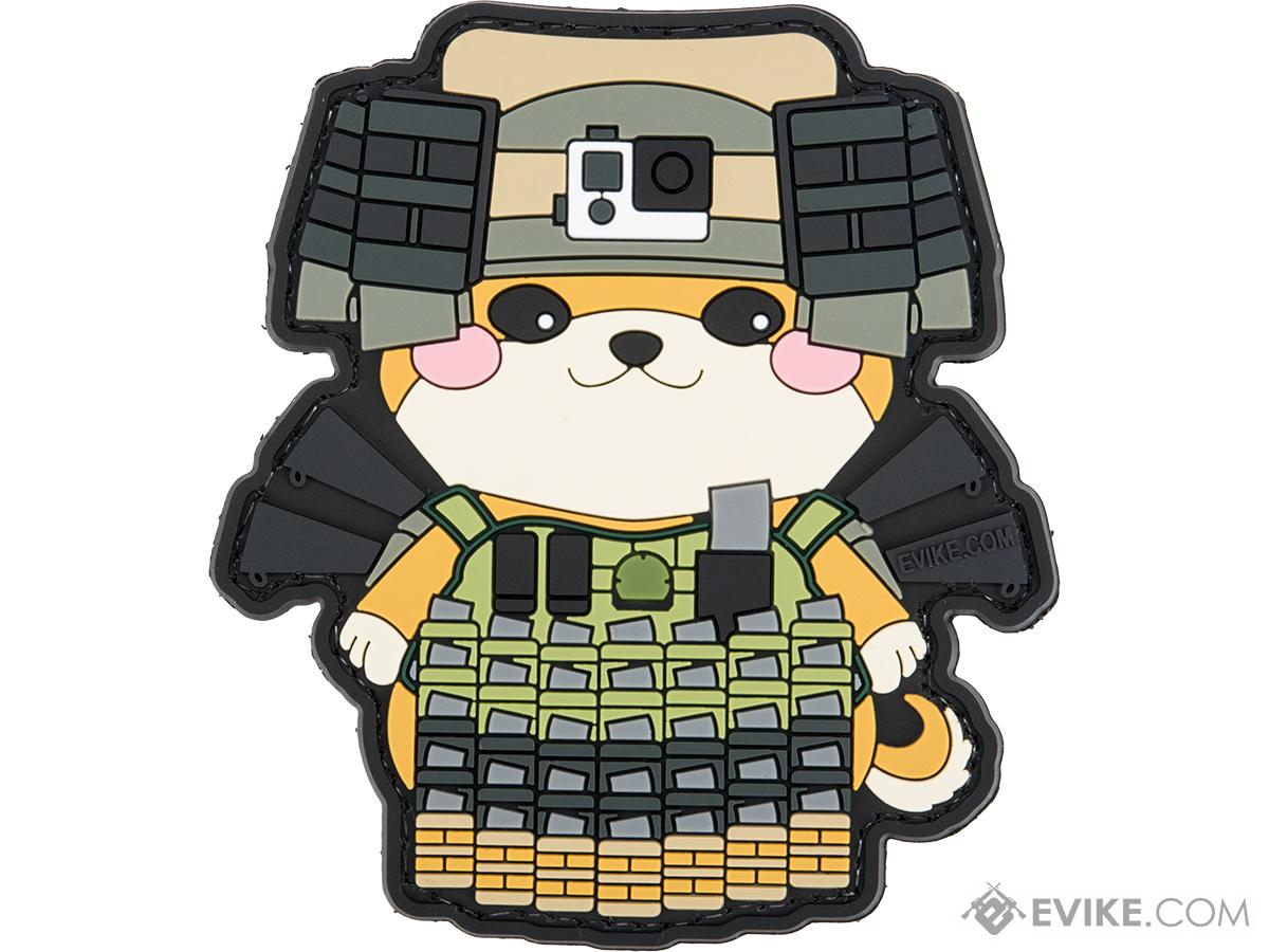 Evike.com The DOGE Hook & Loop PVC Morale Patch (Style: Mo' MOLLE)