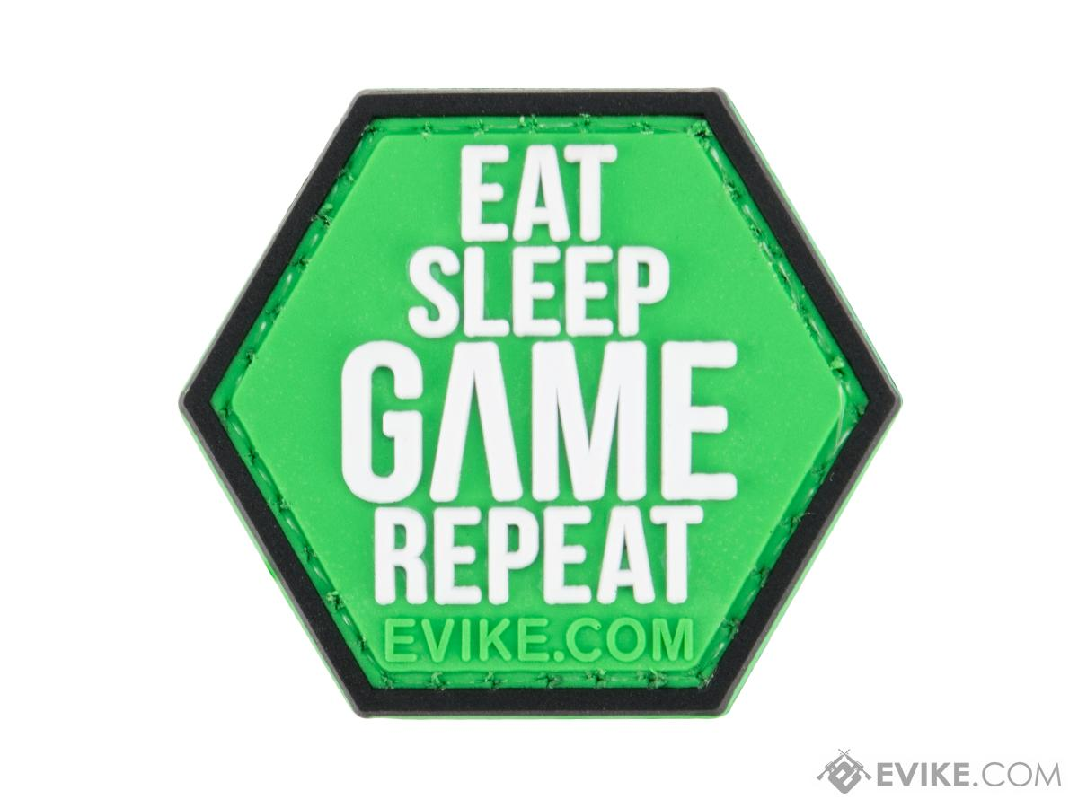 Operator Profile PVC Hex Patch Gamer Series 5 (Style: Eat Sleep Game Repeat)