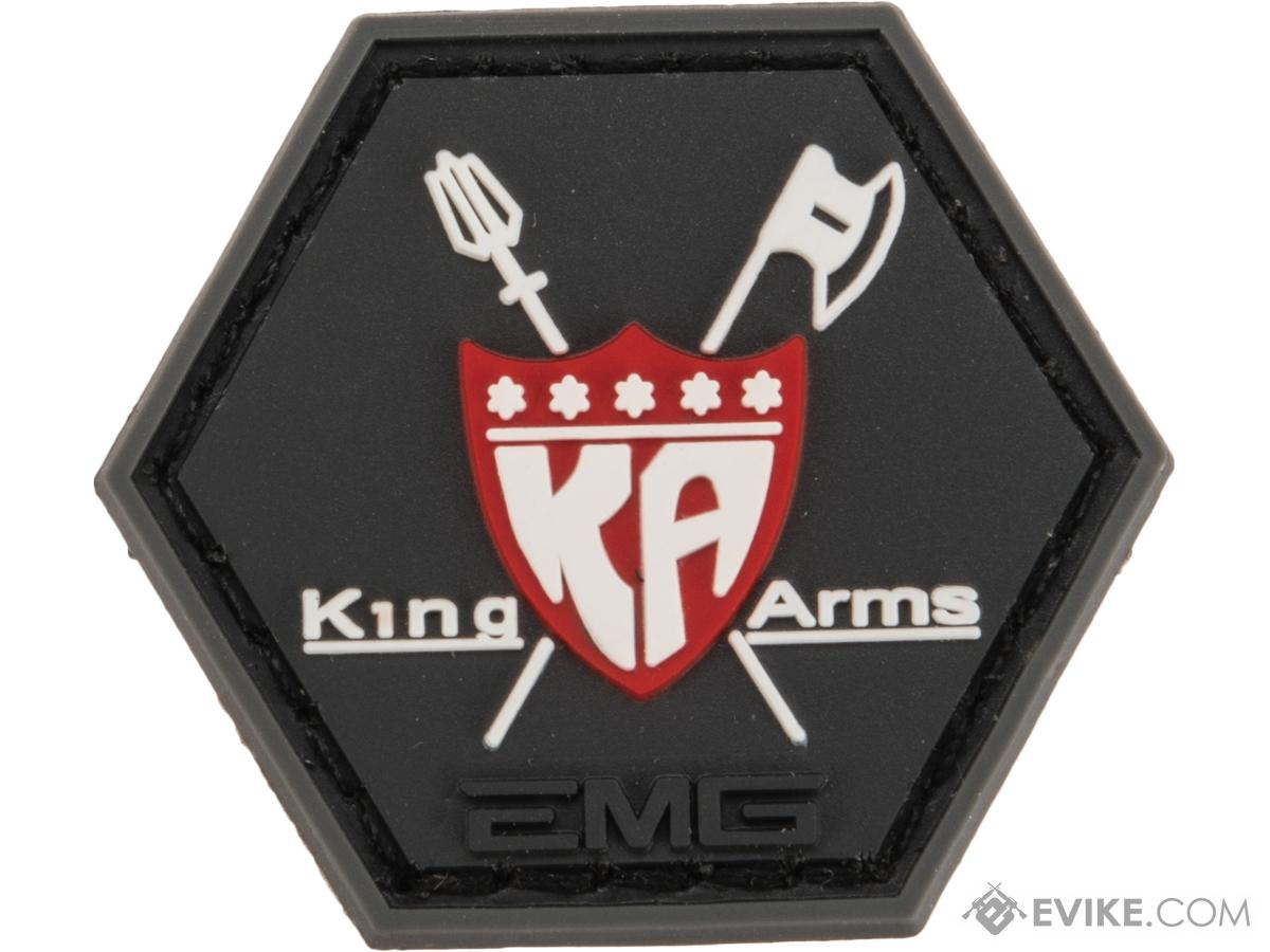 Operator Profile PVC Hex Patch Industry Series 2 (Style: King Arms)