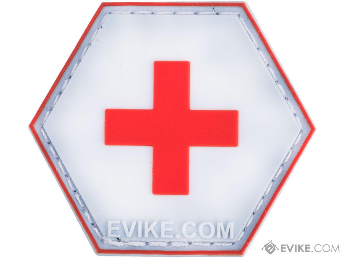 Operator Profile PVC Hex Patch Signs Series (Type: Red Cross)