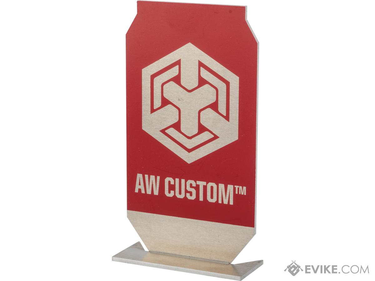 Evike.com / AW Custom ePopper Practical Shooting Popper Targets (Package: AW Custom Logo x1 / Red)
