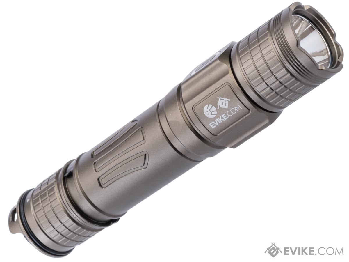 Evike.com Exclusive Brinyte PT28 Oathkeeper Handheld Flashlight (Color: Tan)