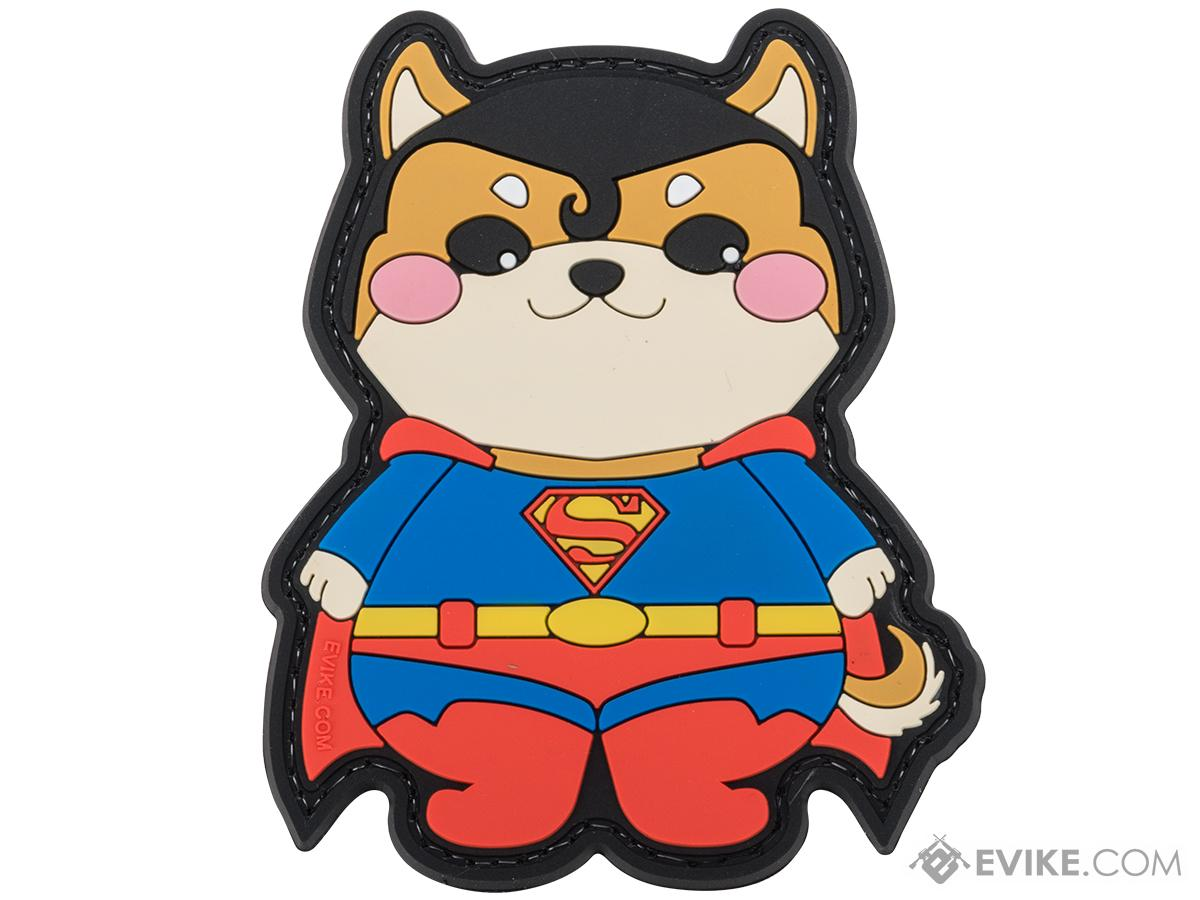 Evike.com The DOGE Hook & Loop PVC Morale Patch (Style: The Doge of Steel)