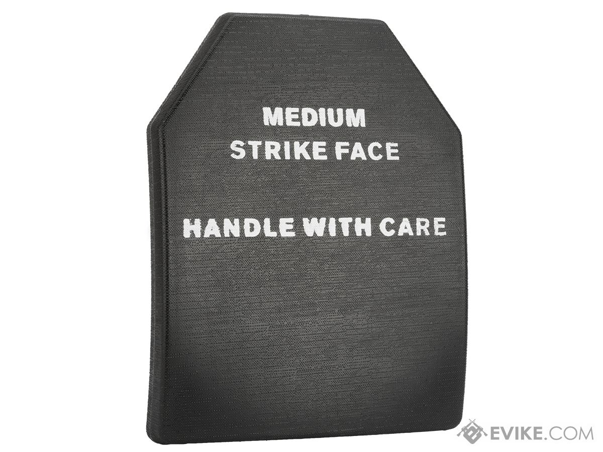 Evike.com Lightweight Replica SAPI Plate (Size: Medium / Black / Single Plate)