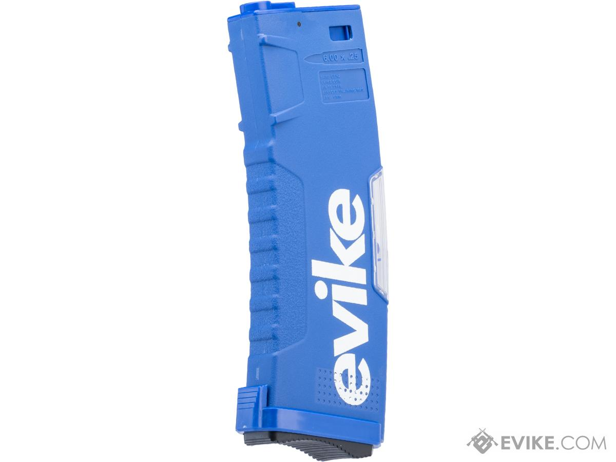 Evike.com BAMF GEN2 Polymer 190rd Mid-Cap Magazine for M4 / M16 Series Airsoft AEG Rifles (Model: Blue / Single Mag)