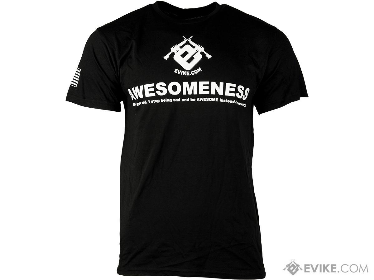 Evike.com Awesomeness Tshirt - Black (Size: Large)