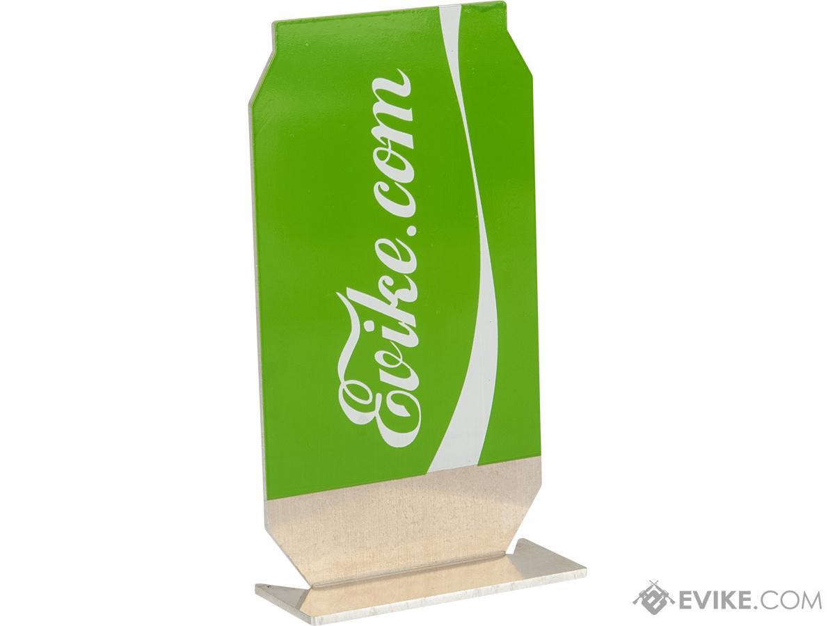 Evike.com ePopper Practical Shooting Popper Targets (Package: Evike Cola x1 / Green)