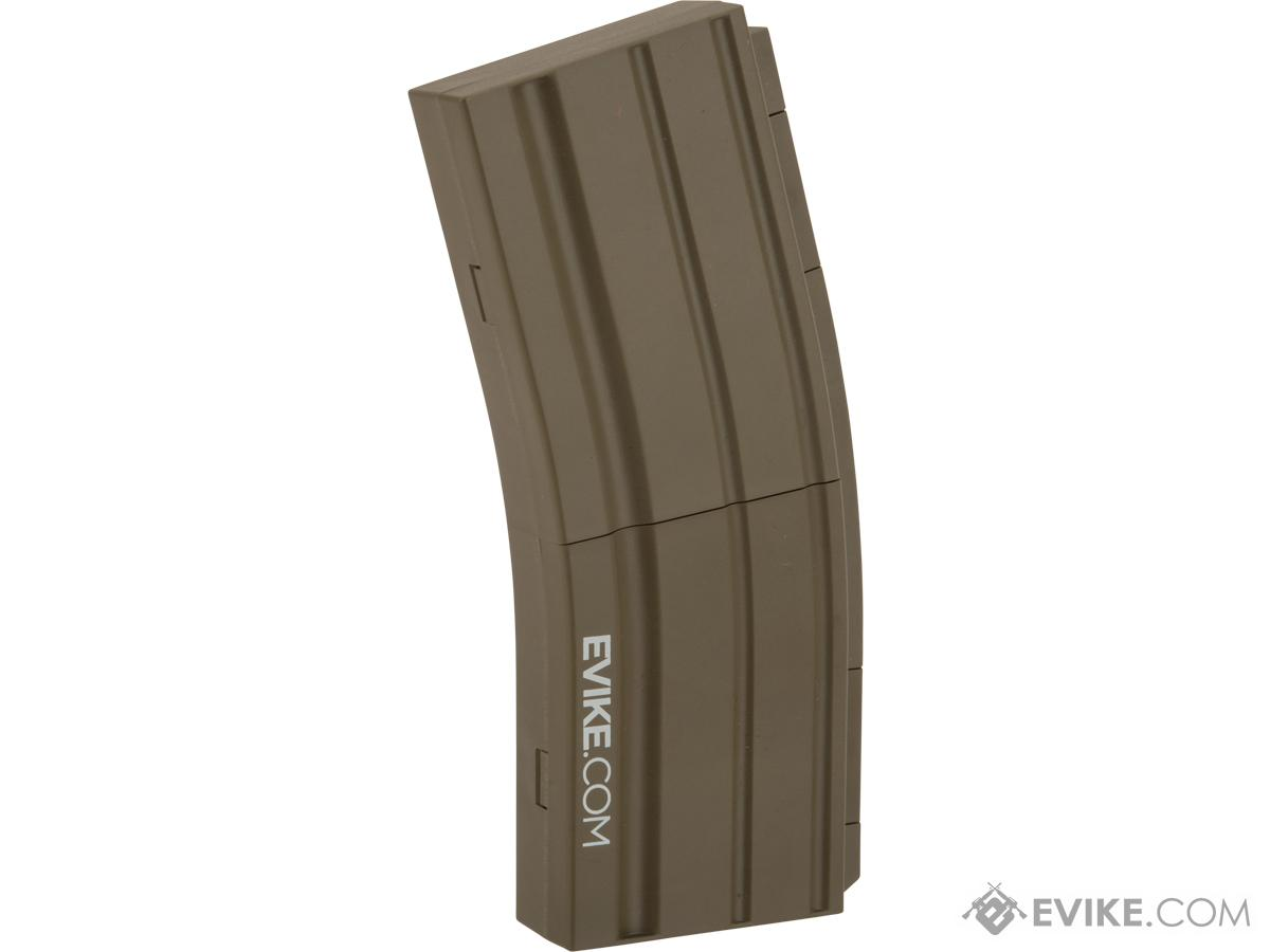 Evike.com M4 AR15 Magazine Shaped Accessory Tool Box (Color: Dark Earth / Evike.com)