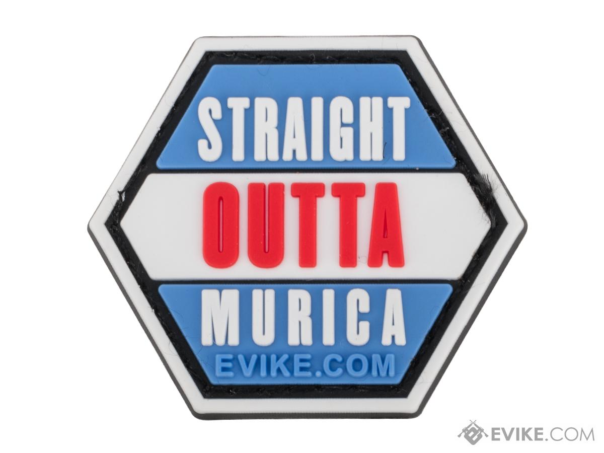 Operator Profile PVC Hex Patch Freedom! Series 2 (Style: Straight OUTTA Murica)
