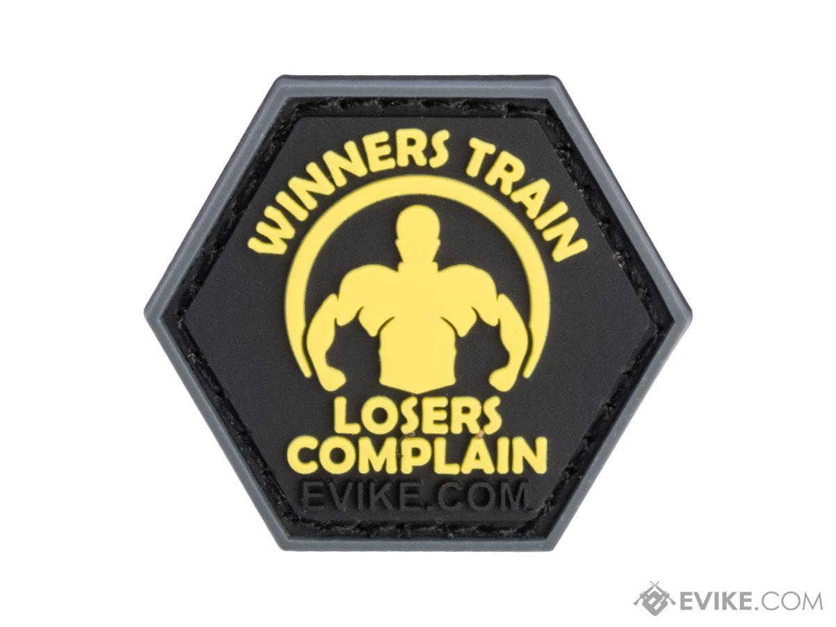 Operator Profile PVC Hex Patch Gym Series (Style: Winners Train)