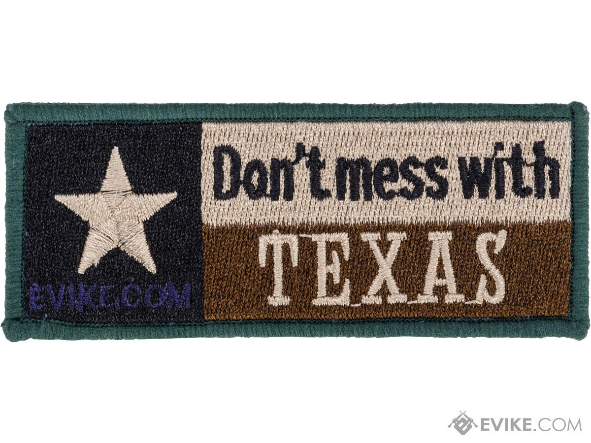Don't Mess With Texas 4 x 1.5 High Quality Embroidered Morale Patch