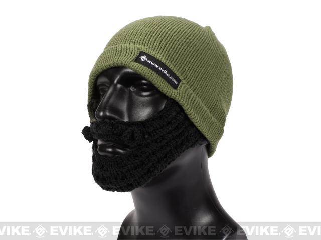 Evike.com Tactical Beard Beanie(Color: Dark Earth / Black)