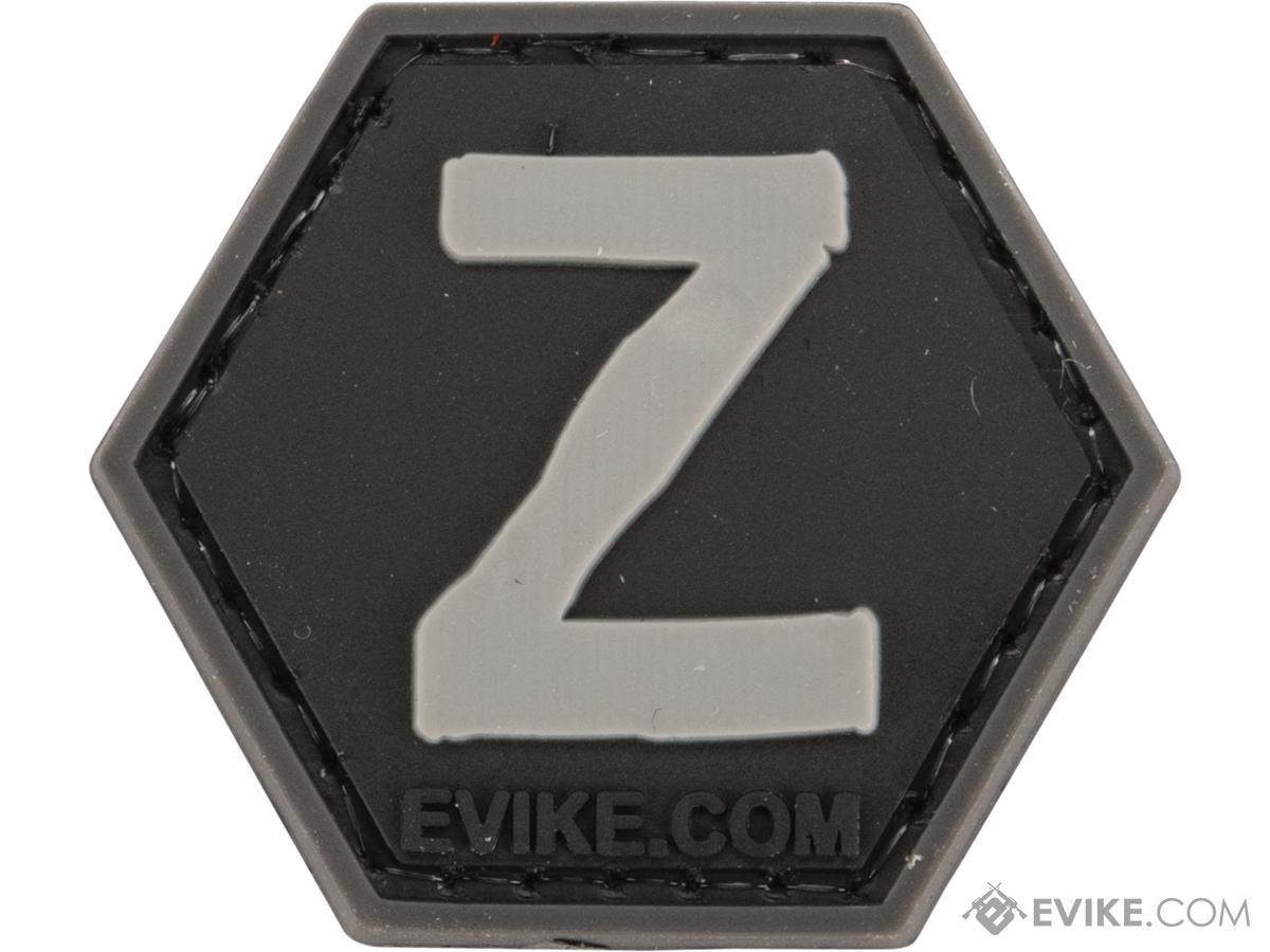 Operator Profile PVC Hex Patch - Alphabet Series (Letter: Z)