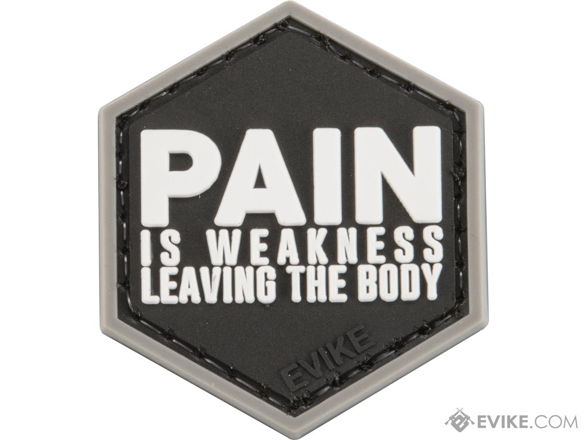 Operator Profile PVC Hex Patch Catchphrase Series 1 (Style: Pain is Weakness Leaving)