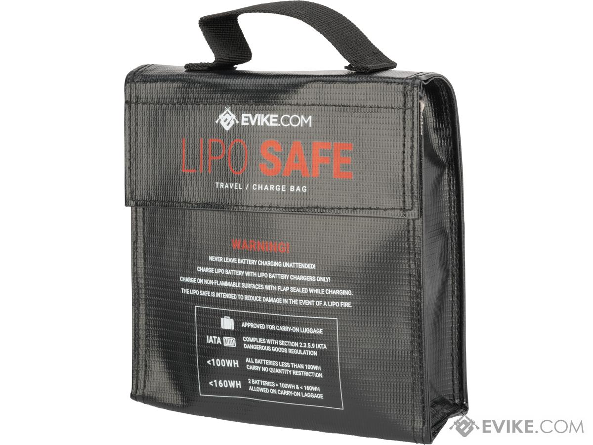 Evike.com Lipo Safe Charging and Travel Bag for Lithium Polymer Batteries (Size: Large)