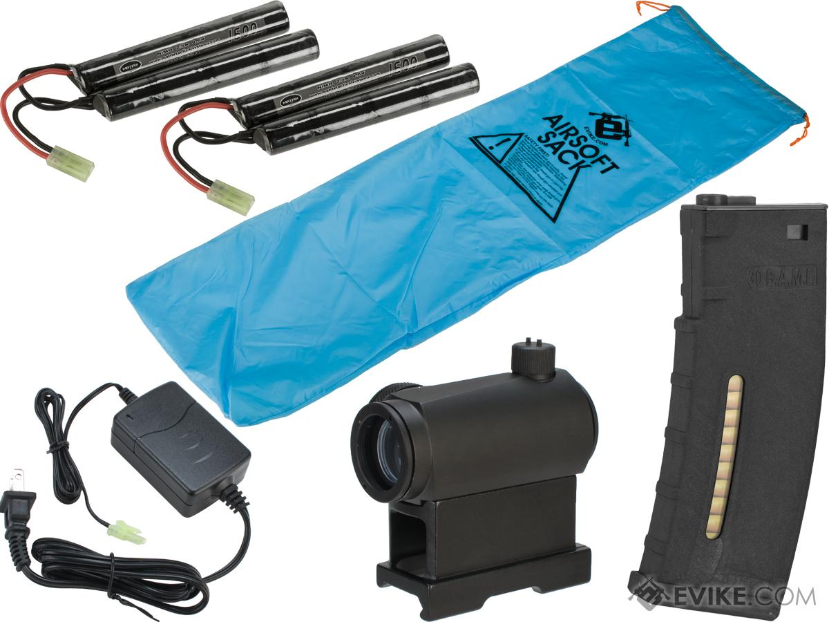 Evike Go Airsoft Base Essentials AEG Starter Package (Series: M4 / 9.6 Butterfly)