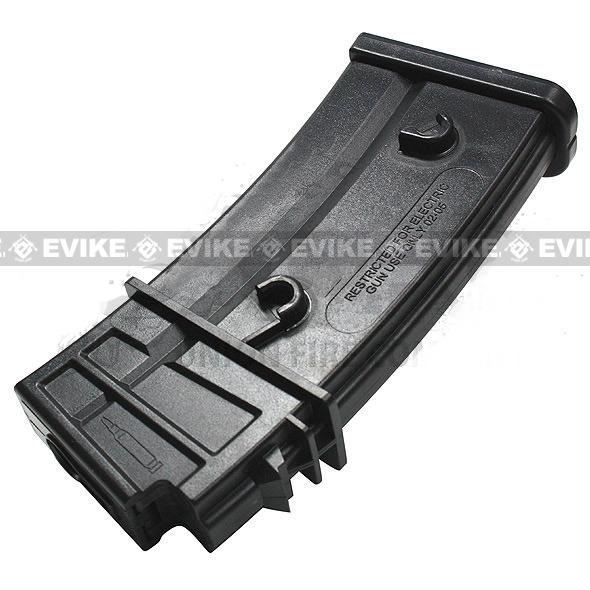 Evike.com 120 Round Mid-cap Magazine For G36 SL9 XM8 Series Airsoft AEG (Package: Single Magazine)