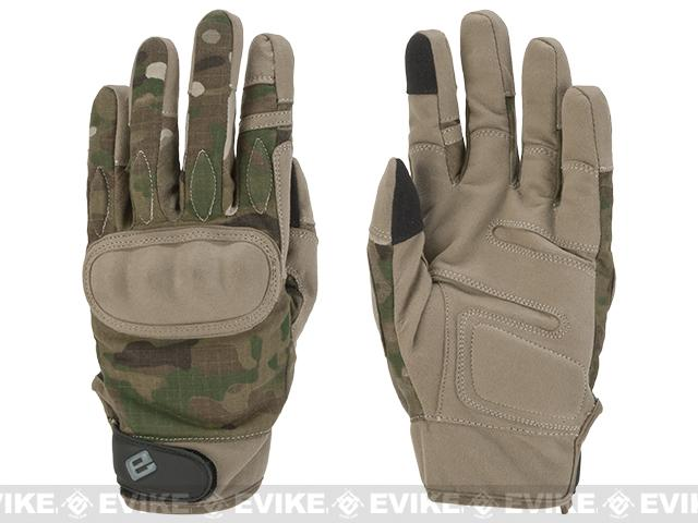 Evike.com Guardian Hard Knuckle Tactical Gloves (Color: Multicam / Small)