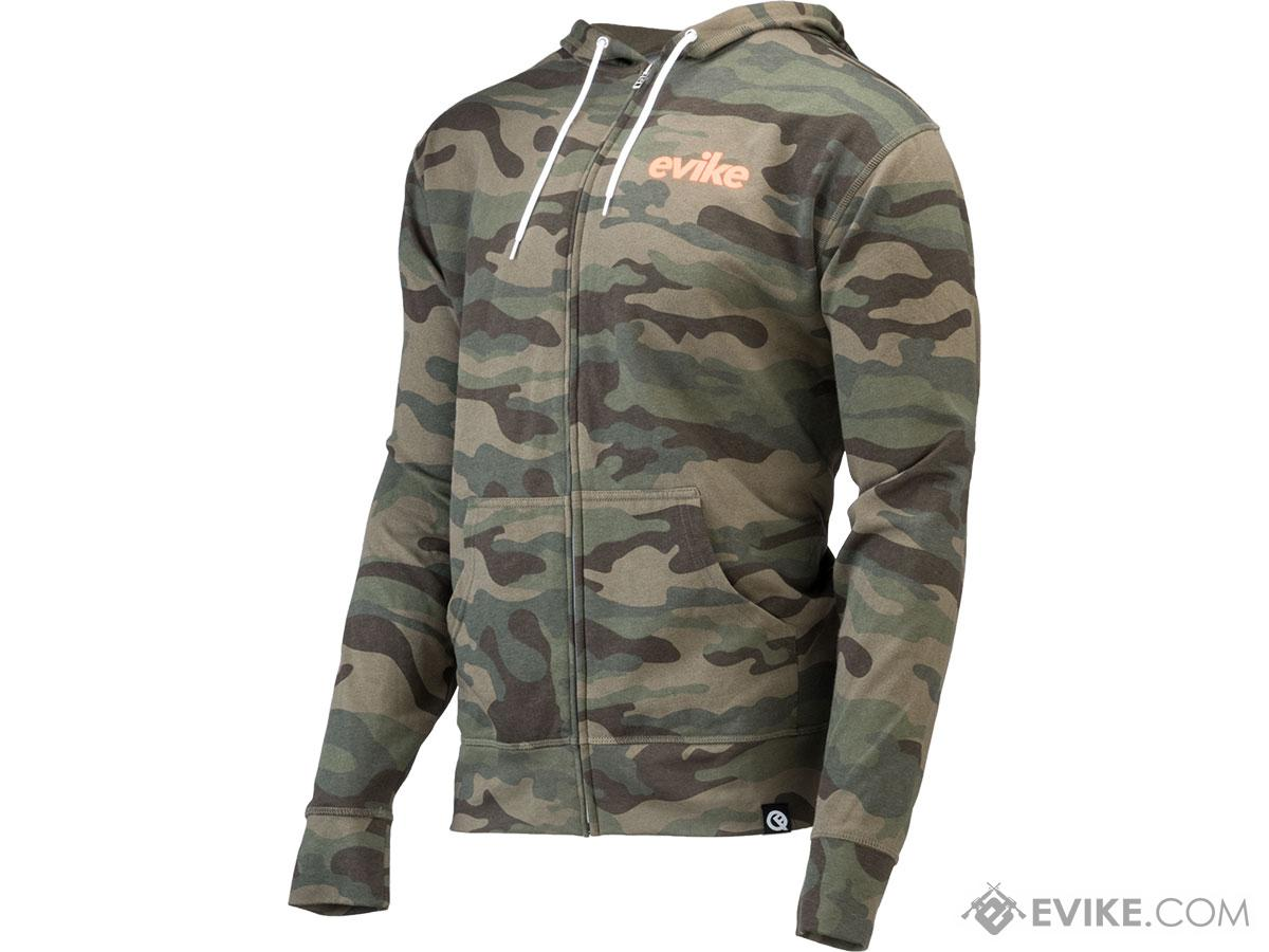 Evike.com x Quikflip Hero Hoodie Lite (Color: Camo / Medium)