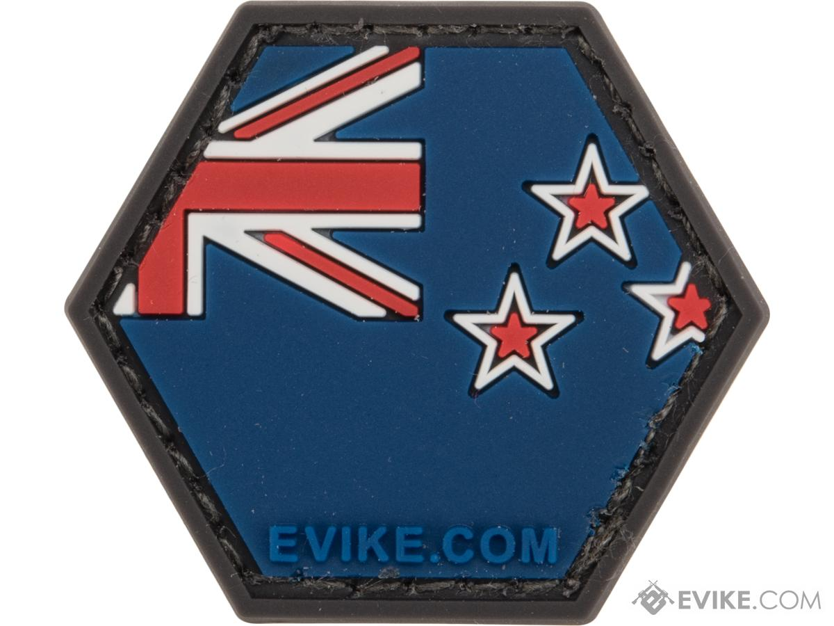 Operator Profile PVC Hex Patch Flag Series (Country: New Zealand)