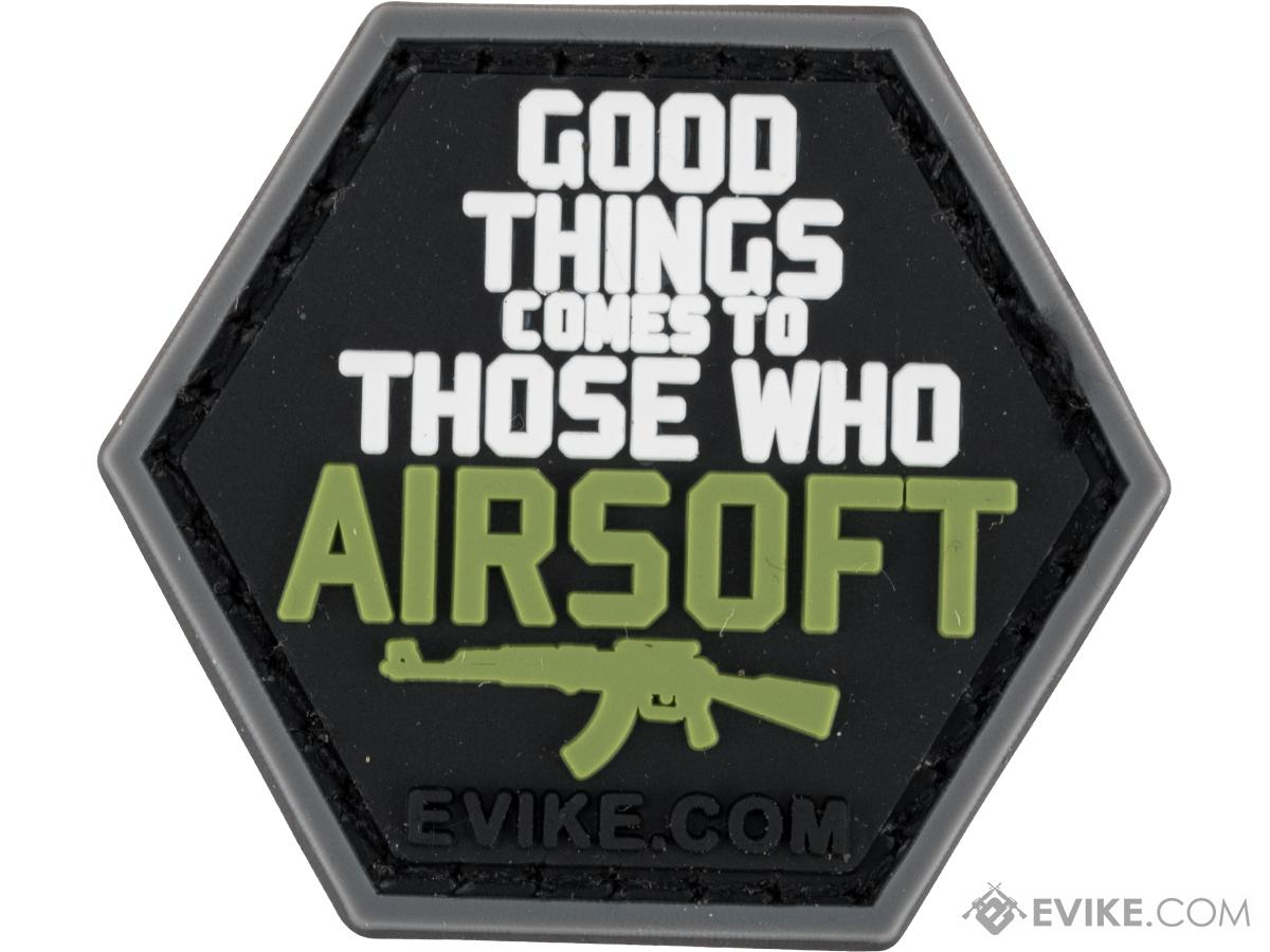 Operator Profile PVC Hex Patch iAirsoft Series 1 (Style: Good Things Come)