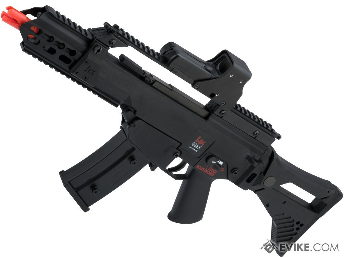 Evike.com Exclusive H&K Licensed G36X Elite Airsoft AEG EBB Rifle by Umarex with ARES E.F.C.S. gearbox