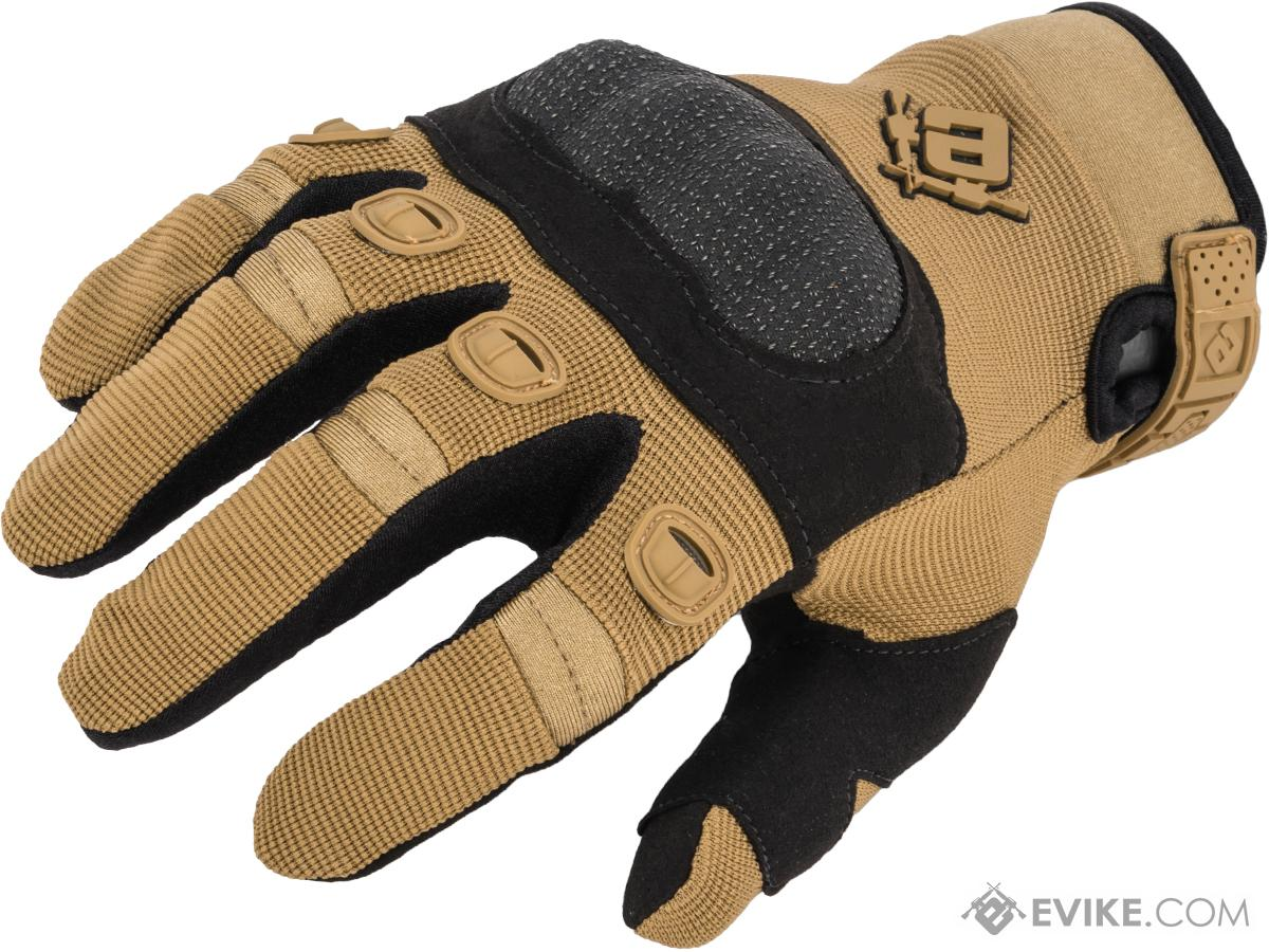 Evike.com Field Operator Full Finger Tactical Shooting Gloves (Color: Tan / Large)
