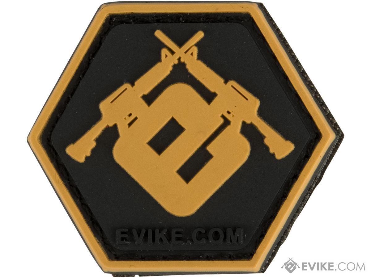 Operator Profile PVC Hex Patch Evike Series 2 (Style: Evike E Gold)