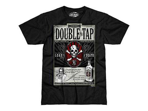 7.62 Design T-Shirt Double Tap (Size: Medium)