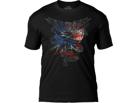 7.62 Design Duty Honor Country Premium Men's Patriotic T-Shirt