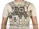 7.62 Design T-Shirt Special Edition Evike.com Bullet Bouncer - Sand (Size: Large)