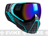 HK Army KLR Full Seal Airsoft/Paintball Mask (Color: Abyss Black / Teal)